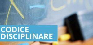 codice disciplinare PA