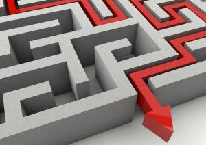 labirinto-piano di emergenza